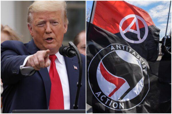 """Trump dichiara guerra all'Antifa: """"Per noi sarà una organizzazione terroristica"""""""