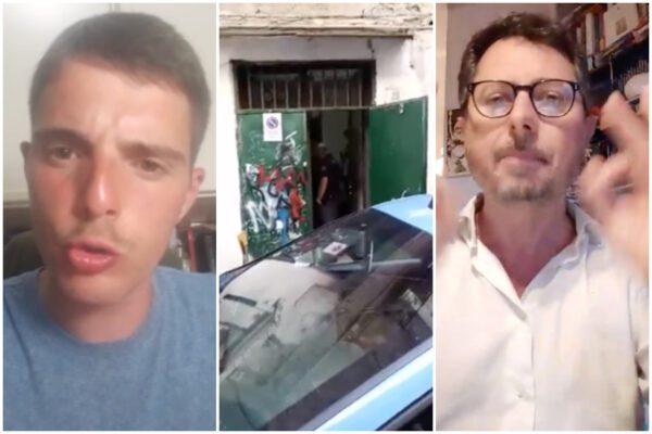 """Borrelli e il tugurio in affitto, parla l'autore dei video: """"Non sono un camorrista"""""""