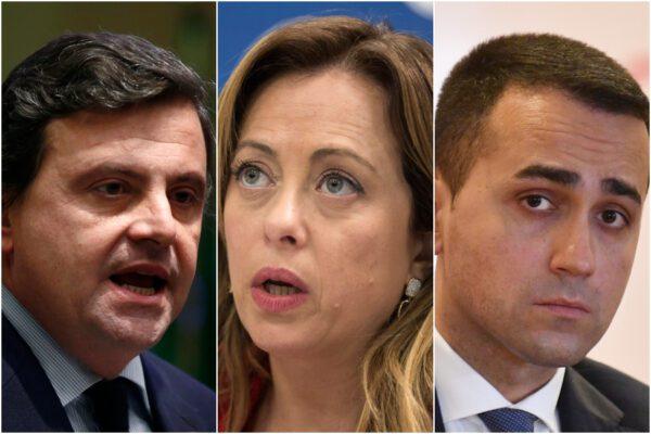 Sondaggio Index-Piazzapulita: crescono M5S e Fratelli d'Italia, Calenda supera Renzi