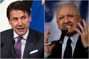 """Conte: """"No lockdown su Milano. Scuole chiuse? De Luca non dà un buon segnale"""""""