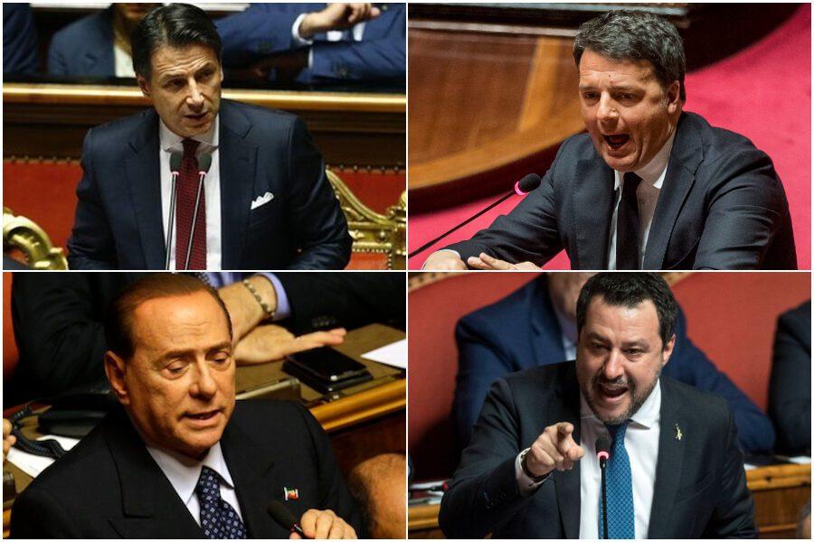Le trame della politica: Renzi lancia ultimatum a Conte, Salvini e Berlusconi pronti per governo di unità nazionale