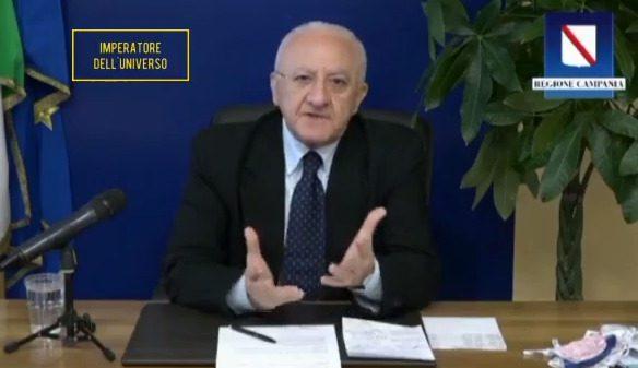 """De Luca attacca il Governo: """"Farà andare a votare i cittadini quando tornerà il coronavirus"""""""