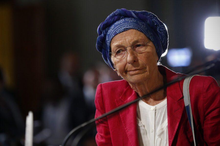 """Emma Bonino: """"Regolarizzare migranti per un solo mese è ridicolo, Conte trovi una soluzione"""""""