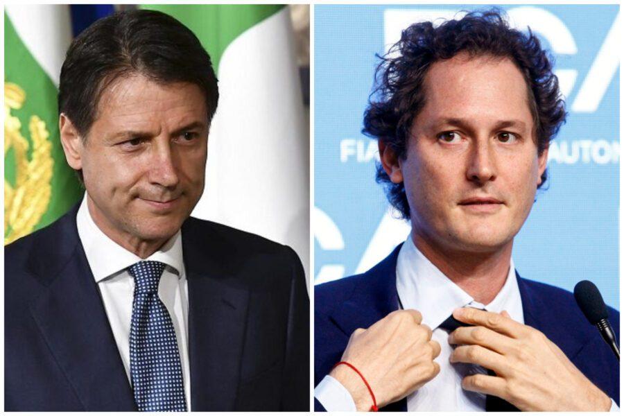 """Fca chiede 6,5 miliardi, Conte approva: """"Sede all'estero ma lavoratori in Italia"""""""