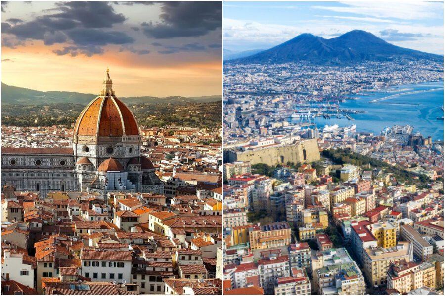 Napoli impari da Firenze, piazze tematiche con tavoli senza dehors