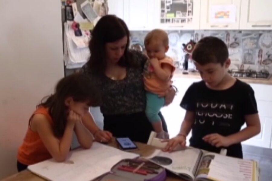 Coronavirus: la storia di Beatrice, cinque figli e lo smart working