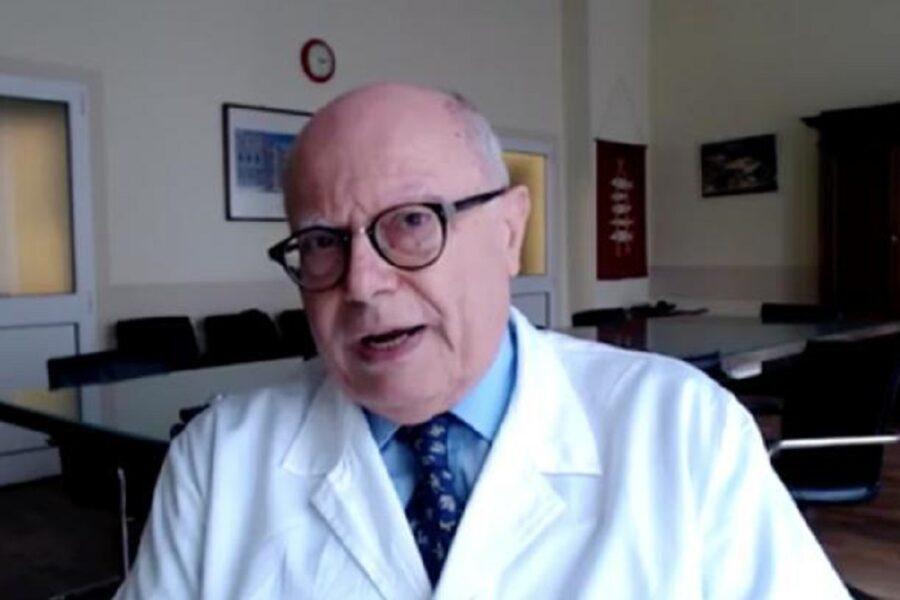 """Massimo Galli avverte: """"Emergenza è come a marzo 2020, disastrosa"""""""