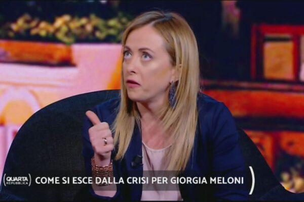 """""""Pap test per individuare il cancro al seno"""", la gaffe di Giorgia Meloni in tv"""