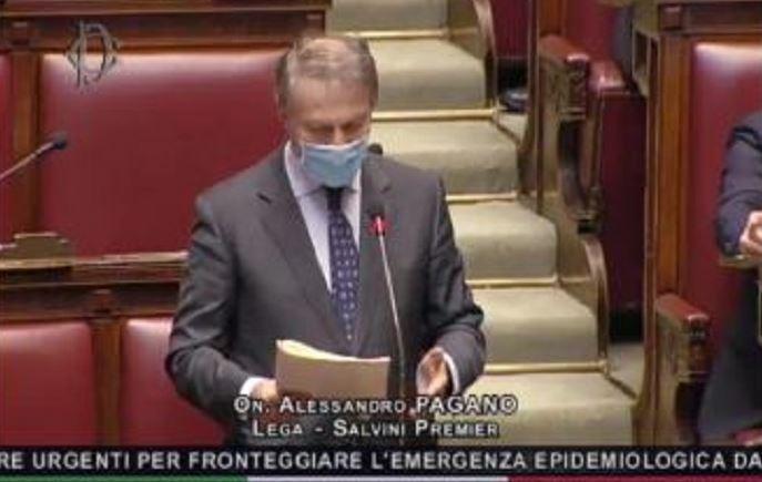 """Bufera alla Camera sul leghista Pagano: """"Silvia Romano è una neo-terrorista"""""""
