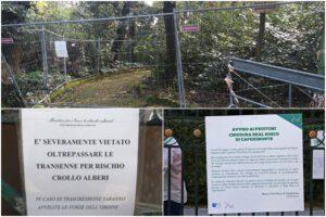 De Magistris vuole riaprire tutto, ma i parchi sono disastrati e inaccessibili