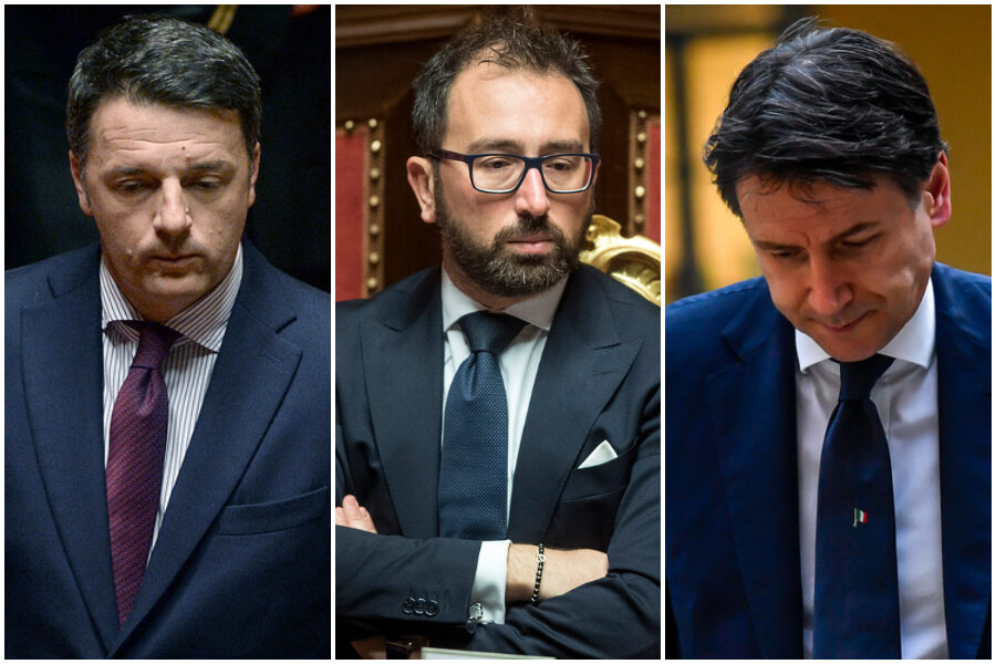 Bonafede si salva, patto di legislatura tra Renzi e Conte