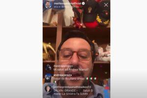 Salvini su Instagram saluta Bugliano, il Comune che non esiste