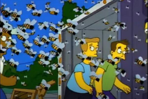 Coronavirus e calabroni giganti, la doppia profezia dei Simpson del 1993