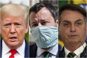 Salvini come Trump e Bolsonaro: per la Bbc sono i politici che hanno diffuso le peggiori bufale sul Coronavirus