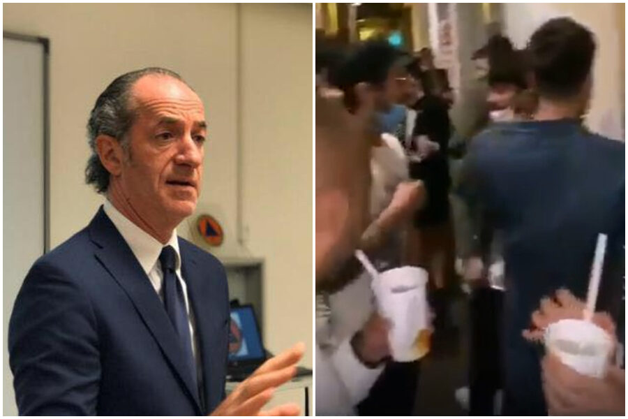 """Padova, spritz e assembramenti fanno infuriare Zaia: """"Li aspettiamo negli ospedali"""""""
