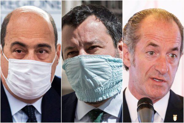 Sondaggio Ixè: Zaia in ascesa incalza Conte e supera Salvini-Meloni, male il Pd