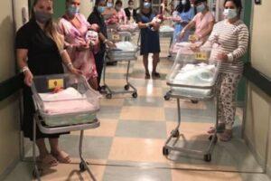 """Record a Cremona, 15 bimbi nati in 24 ore: """"E' un segnale di rinascita"""""""