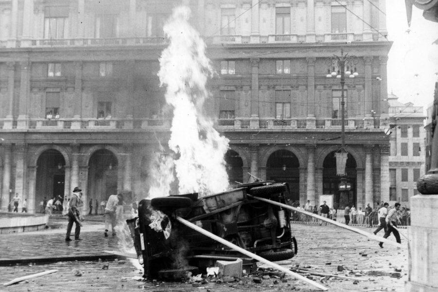 Storia dell'estate 1960, da Nord a Sud la polizia sparava e uccideva