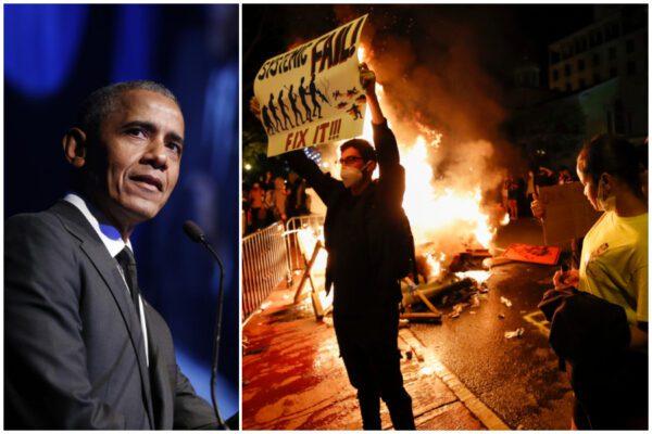 """Obama sul caso George Floyd: """"Per un cambiamento reale serve sia protestare che votare"""""""