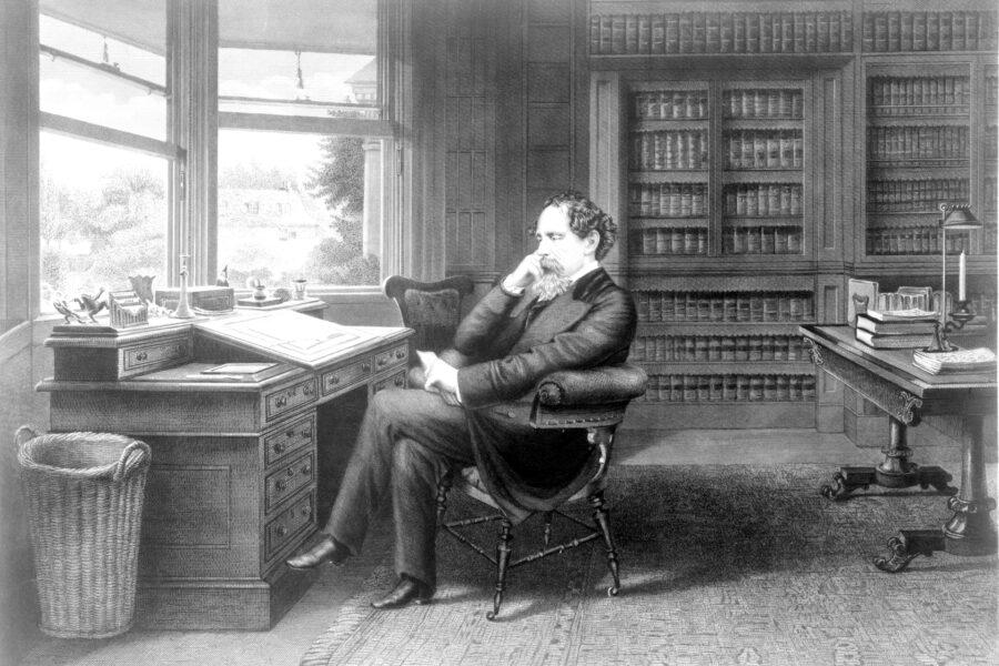 Ritratto di Charles Dickens, cantore dell'animo umano