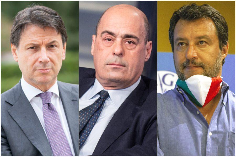 Sondaggio Bidimedia: Pd in forte rimonta sulla Lega, Conte vale il 10%