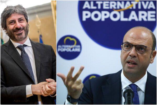 Vergogna grillina, transfughi formano gruppo del partito di Angelino Alfano (senza eletti) e accedono a finanziamenti e contributi: Fico tace