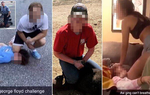 George Floyd Challenge, il macabro 'gioco' che simula la sua morte invade i social