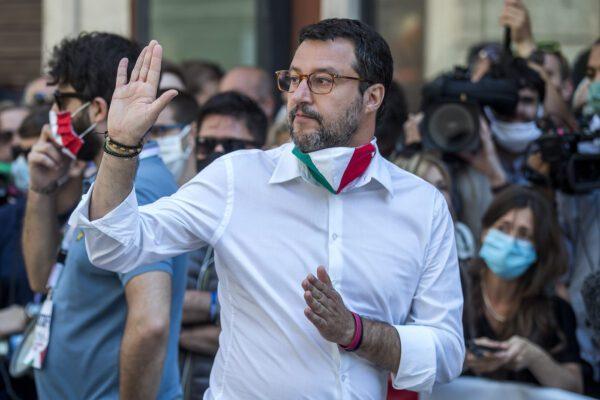 """Intervista a Matteo Salvini: """"Conte vanitoso e lontano dalla realtà, regionali di settembre ennesimo avviso di sfratto"""""""
