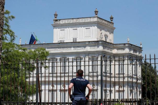 Gli Stati generali a Villa Pamphilj