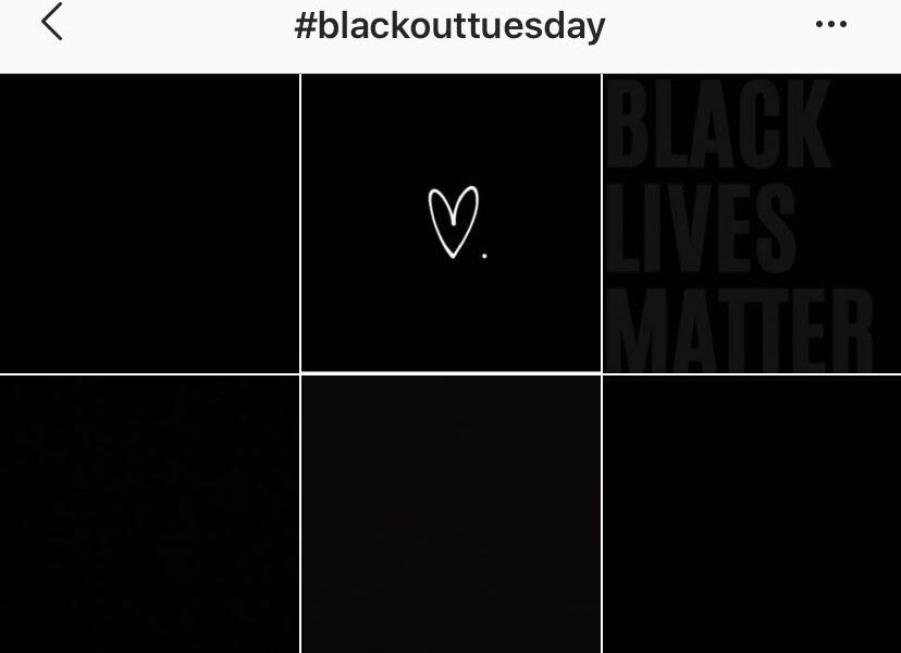Foto nera su Instagram: che cos'è il Blackout Tuesday sui social