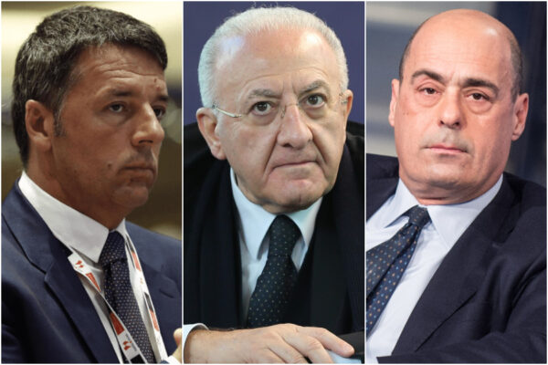 """Crisi di governo e mossa di Renzi, De Luca: """"Tutto ridicolo, la maggioranza si farà"""""""