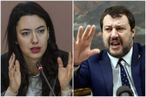 """Salvini attacca Azzolina: """"Mia figlia, a scuola nel plexiglas, non ce la mando"""""""