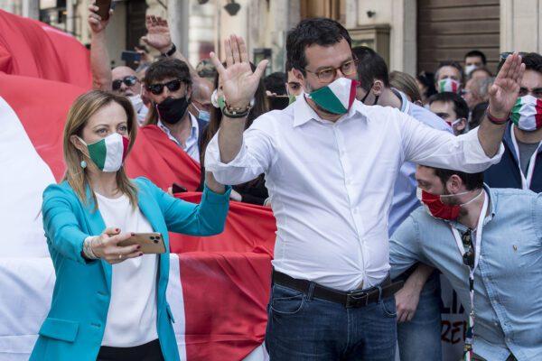 Unità nazionale sfumata per il radicalismo di Salvini e Meloni, tiro alla fune tra Cgil e Confindustria frena ripresa
