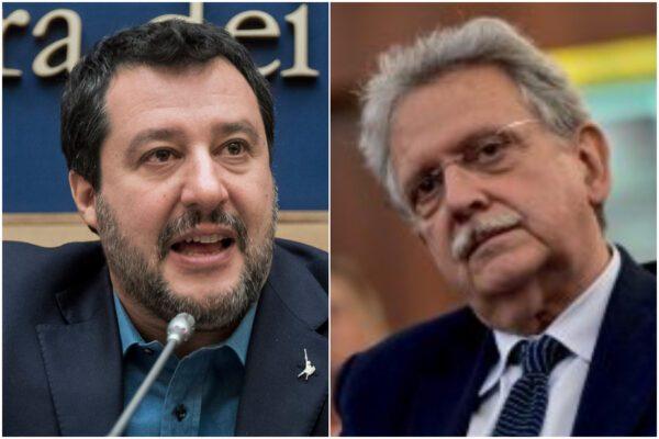 """Matteo Salvini contro Palma: """"Sei il garante dei delinquenti"""""""