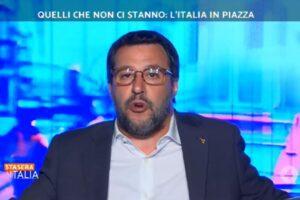 """Salvini in tv spiega che """"non c'è futuro se non si investe su ragazzi e scuola"""", ma su Quota 100 ha investito oltre 60 miliardi"""