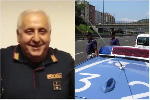 La Polizia Stradale saluta la sua bandiera: va in pensione il commissario Fulvio Papa