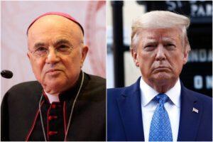 """Coronavirus e proteste antirazziste sono """"un complotto"""" contro Trump, l'incredibile lettera dell'arcivescovo Viganò"""