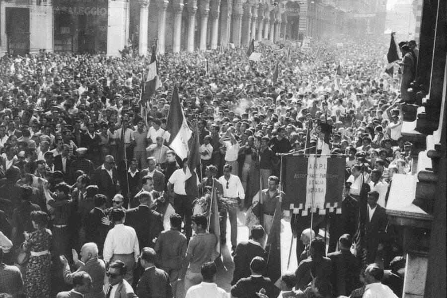 Storia del luglio 1960, quando l'antifascismo divenne nuovamente un valore