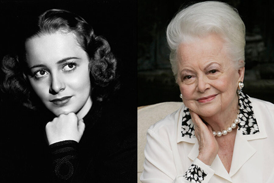 Morta Olivia de Havilland, ultima star di 'Via col vento'