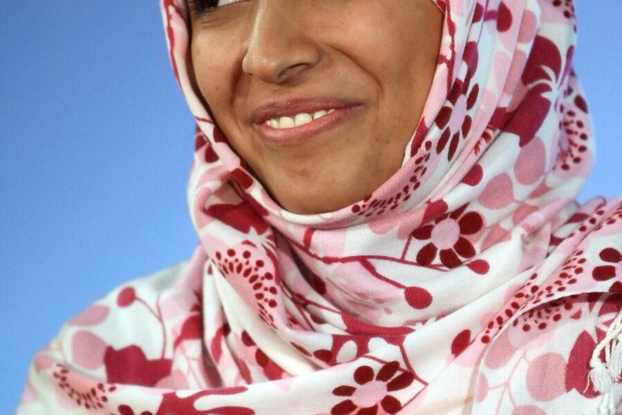 "Yemen, parla il Nobel Tawakkol Karman: ""Il mondo ignora la guerra nel mio Paese"""