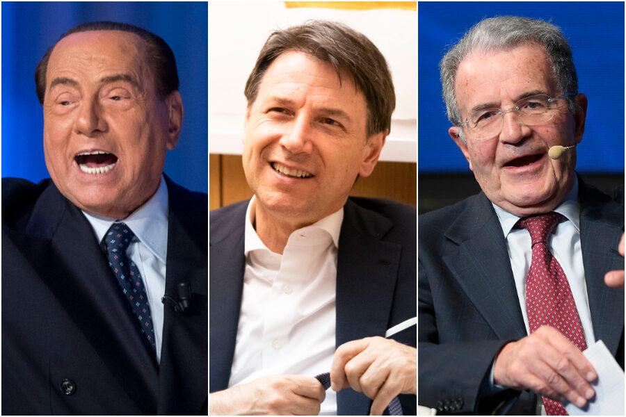 Il sondaggio che incorona Conte: è il miglior premier degli ultimi 25 anni (davanti a Berlusconi e Prodi)