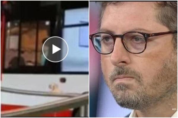 """""""Bambino alla guida"""", Borrelli non chiede scusa e nasconde la fake news: """"Vi è andata male, l'autista è stato sospeso"""""""