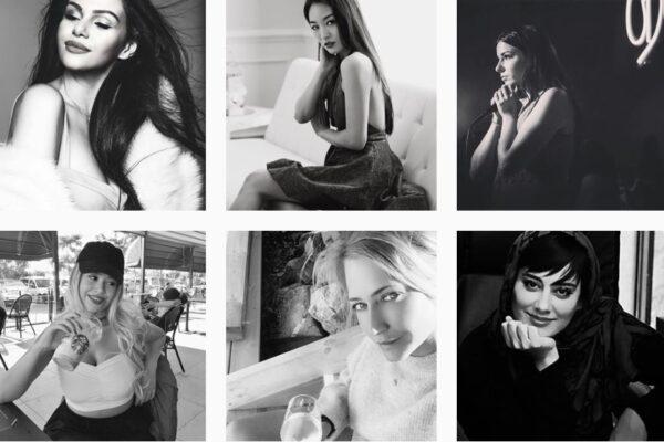 Selfie in bianco e nero su Instagram, la nuova sfida della solidarietà al femminile