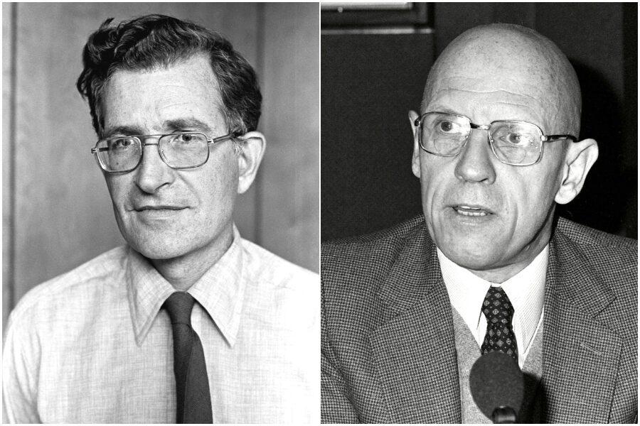 Cos'è la natura umana, lo stimolante confronto tra Chomsky e Foucault
