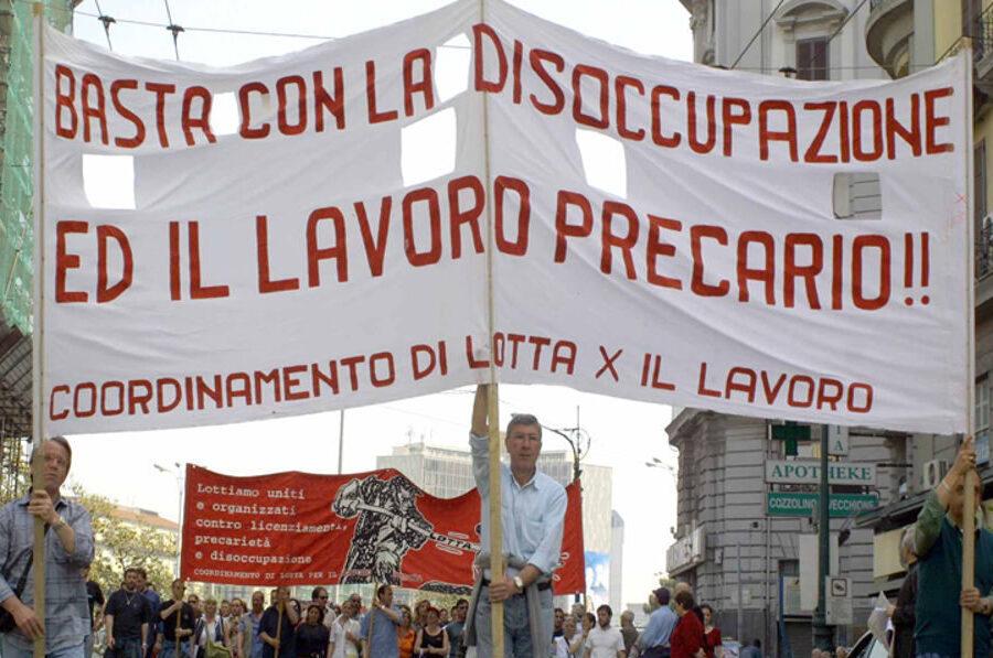 Lavoro e reddito, in Campania a crescere è la povertà