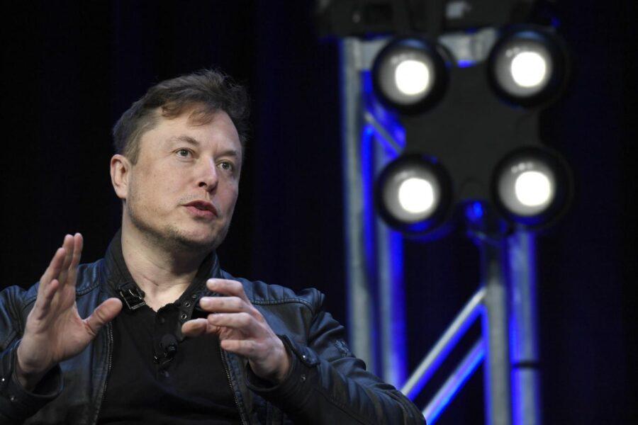 Il fondatore di Tesla Elon Musk