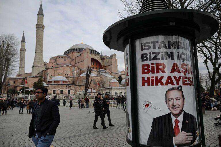 Erdogan e la conversione di Santa Sofia che vale più degli oppositori al regime