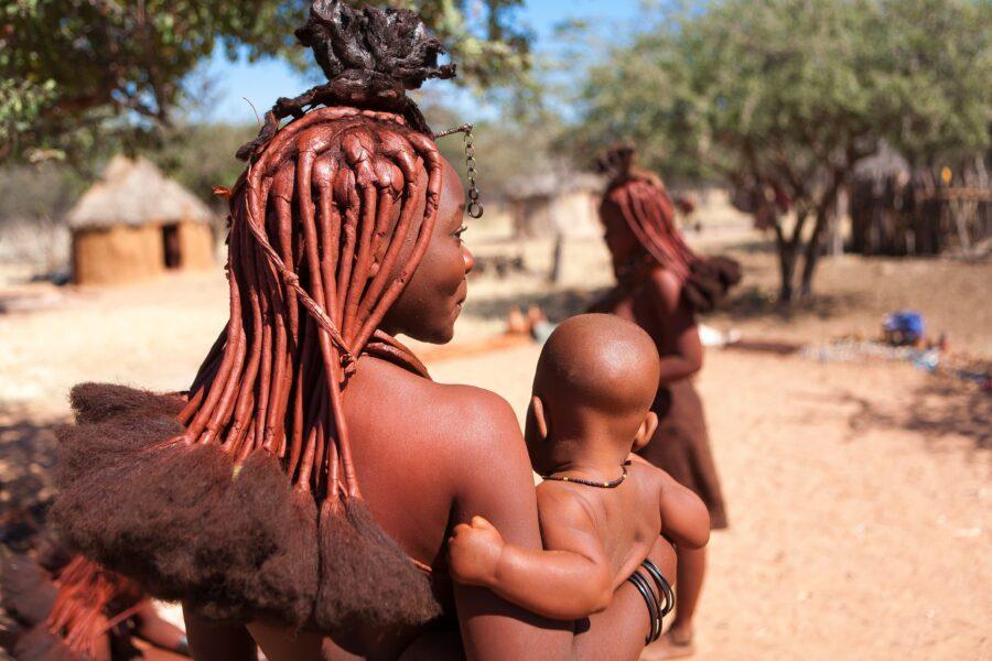 La leggenda della canzone della vita delle madri Himba