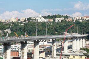 Ponte di Genova, concluso il collaudo: dal 5 agosto sarà aperto al traffico