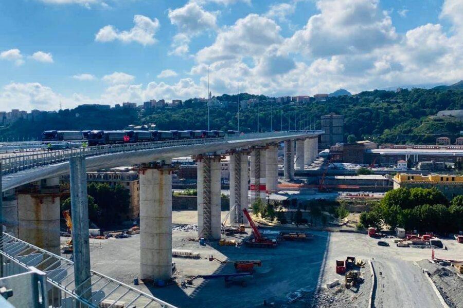 Il nuovo ponte di Genova inaugurato il 3 agosto: sarà intitolato a San Giorgio